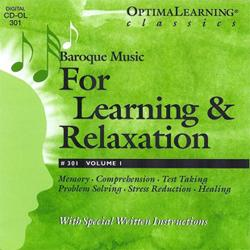 Optimal Learning® Classics Learning & Relaxation Volume 1 (CD)